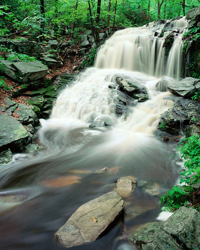Tioratti Falls in Spring