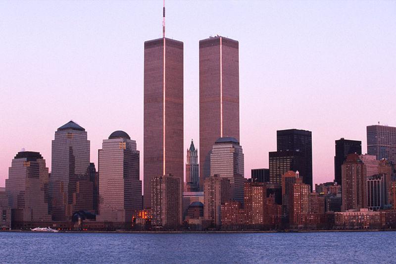 Lower Manhattan and World Trade Centers