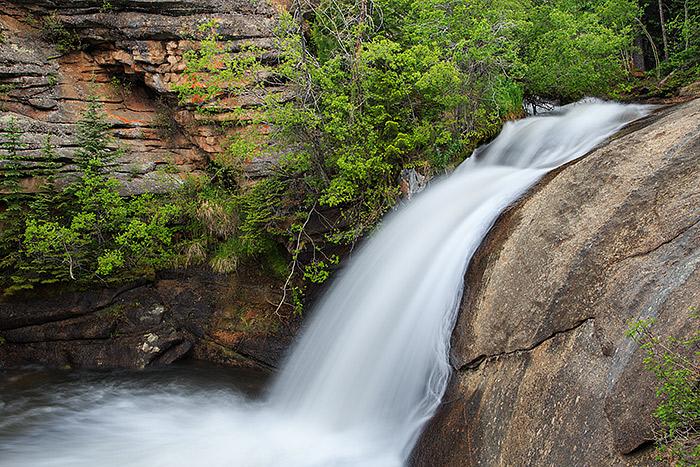 West Creek Falls Runof... Water Cycle Runoff