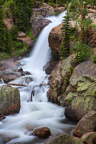 Rocky Mountain National Park, Alberta Falls, Glacier Gorge, Abner Sprague, Colorado, photo