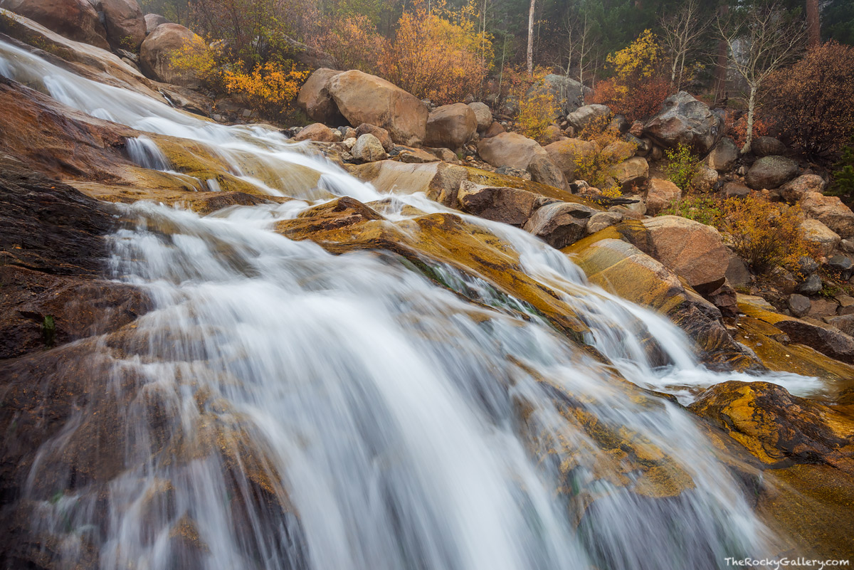 Roaring River,Horseshoe Park,RMNP,Alluvial Fan Falls,Horseshoe Park,Autumn,Fall,Landscape,Snow,Photography,Estes Park,Rocky Mountain National Park,Colorado,waterfall,ice, photo
