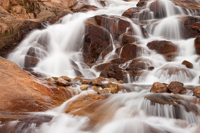 Alluvial Fan, Falls, Roaring River, Lawn Lake, Rocky Mountain National Park, Colorado, Dam, photo