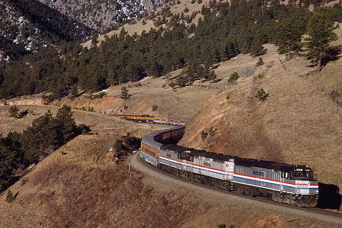 Ski Train, Winter Park, Denver, Colorado, train, Coal Creek, photo