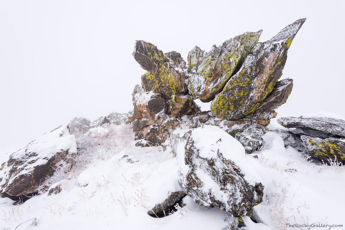Rocks,Trail Ridge Road,Closed,October,Snow storm,Estes Park,Grand Lake,RMNP,Rocky Mountain National Park,Colorado,timberline,alpine tundra, photo