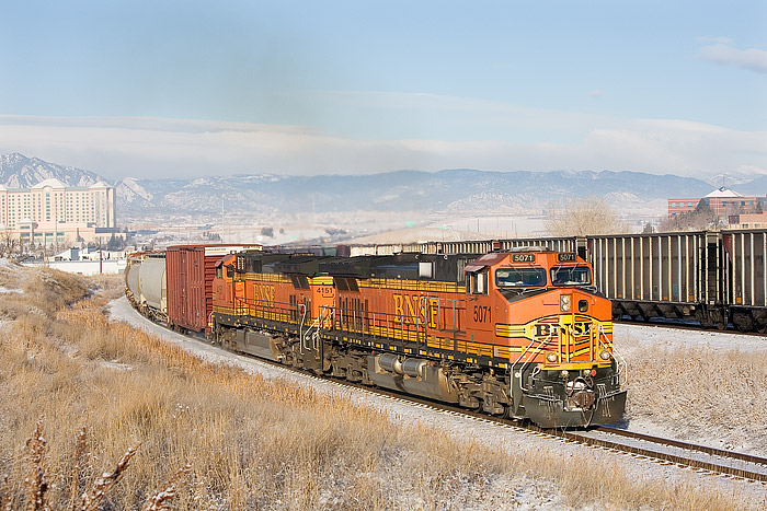 BNSF, Denver, Colorado, Train, Coal, photo