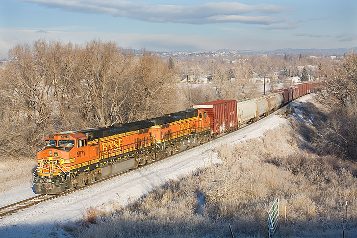 BNSF, Louisville, Colorado, Front Range, trains, photo