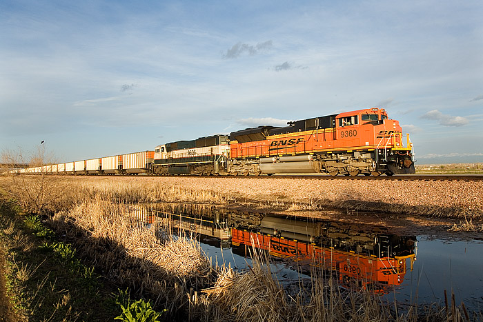 BNSF, Powder River Basin, Wyoming, Colorado, Irondale, Coal, photo