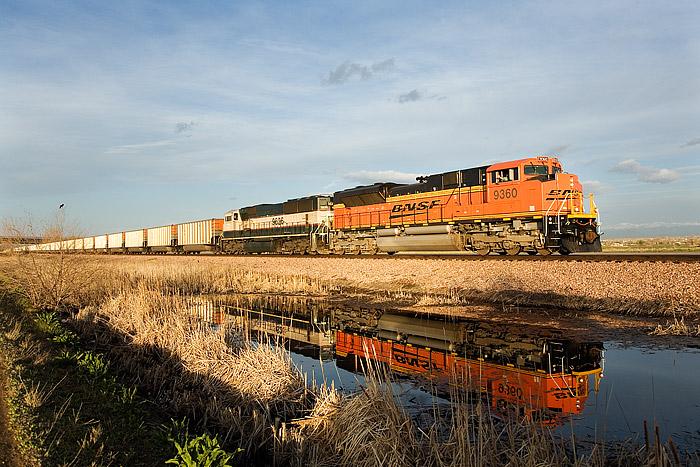 BNSF, Powder River Basin, Wyoming, Colorado, Irondale, Coal, photo