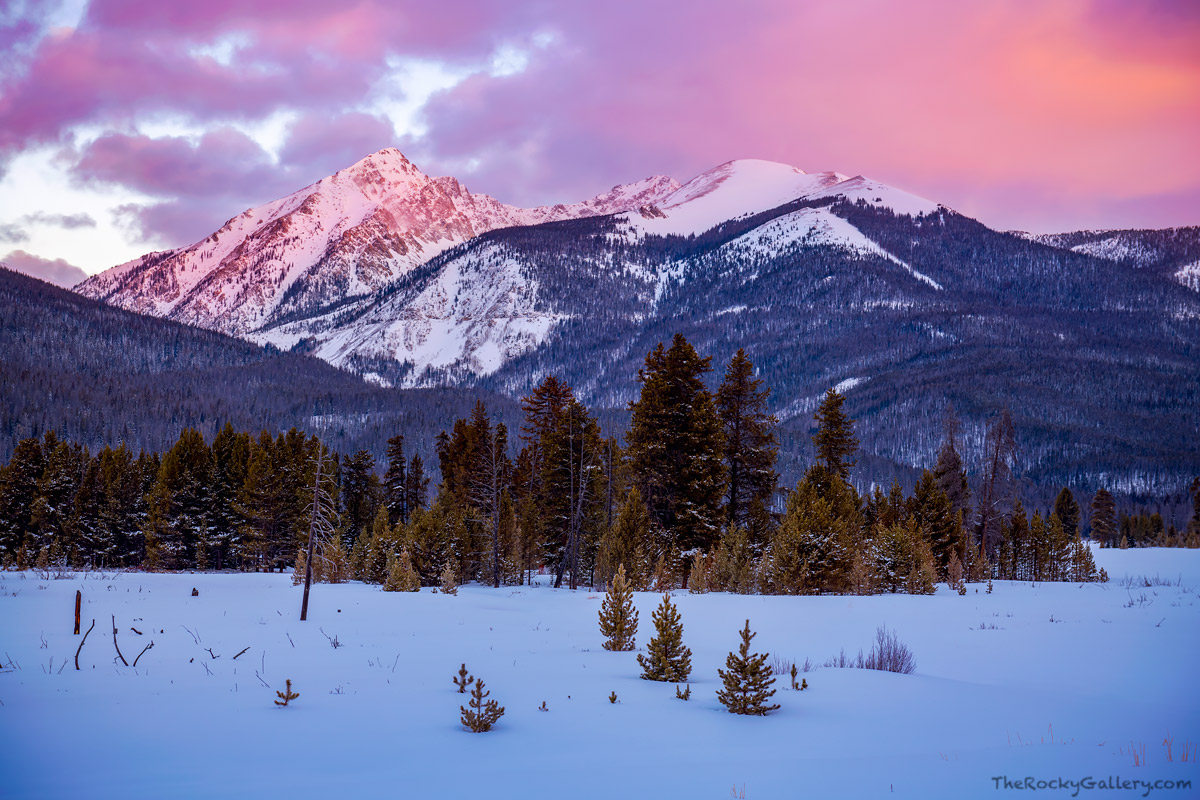 West Side,Grand Lake,Colorado River,Kawuneeche Valley,Baker Mountain,Bowen Baker Gulch,March,Sunrise,Landscape,Photography,RMNP,Rocky Mountain National Park,Colorado,Fishing, photo