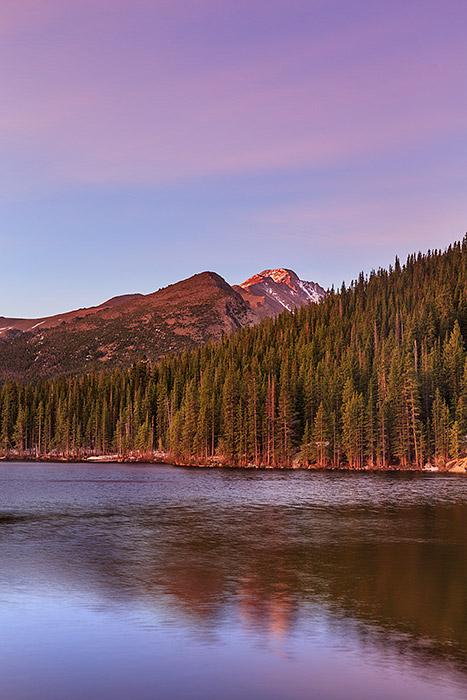 Bear Lake, Rocky Mountain National Park,Colorado,Longs Peak,Sunrise,Estes Park,RMNP, photo