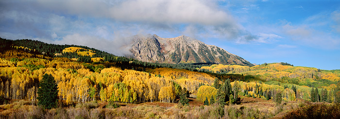 Crested Butte, Colorado, East Beckwith, Kebler Pass, Fall, photo