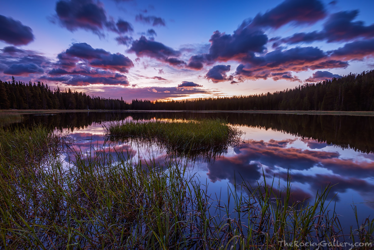 Bierstadt Lake,Bear Lake Road,Sunrise,Reflection,September,Bierstadt Lake Trailhead,RMNP,Colorado,Rocky Mountain National Park,Landscape,Photography,Bierstadt Moraine,continental divide, photo