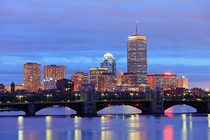 Boston, Charles River, Downtown, Massachusetts, Skyline, Longfellow Bridge, photo