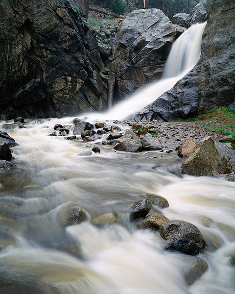 Boulder Falls, Colorado, Boulder Canyon, North Boulder Creek, Middle Boulder Creek, Open Space, OSMP, photo