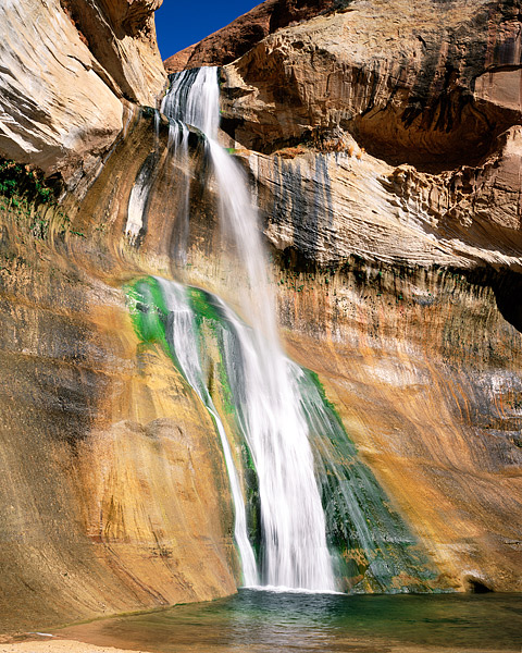 Utah, Grand Staircase, Escalante, National Monument, Lower Calf Creek Falls, photo