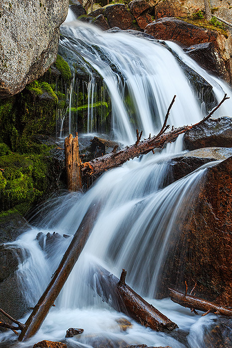 Rocky Mountain National Park,Colorado,Calypso Cascade,Wild Basin,Waterfalls, photo
