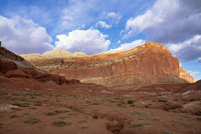 Utah, Capitol Reef, National Park, Waterpocket Fold, sandstone, Colorado Plateau, photo