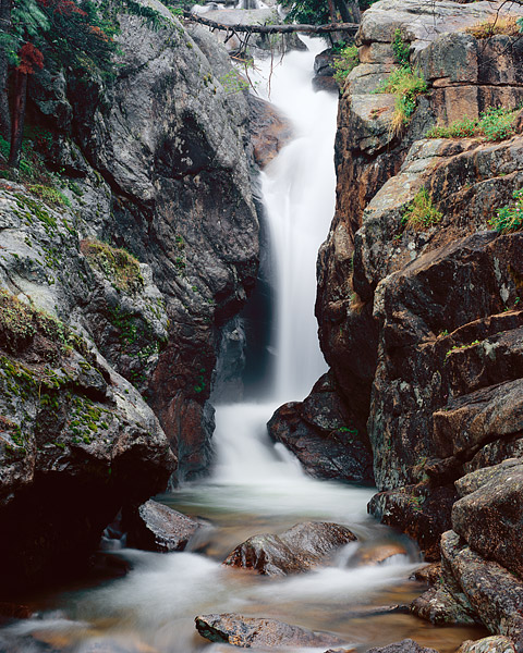 Fall River rolls on through Chasm Falls. This is a popular destination in Rocky Mountain National Park. Chasm Falls can be found...