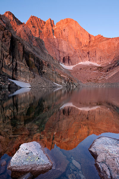 Rocky Mountain National Park, Longs Peak, The Diamond, Chasam Lake, Colorado, Estes Park, photo