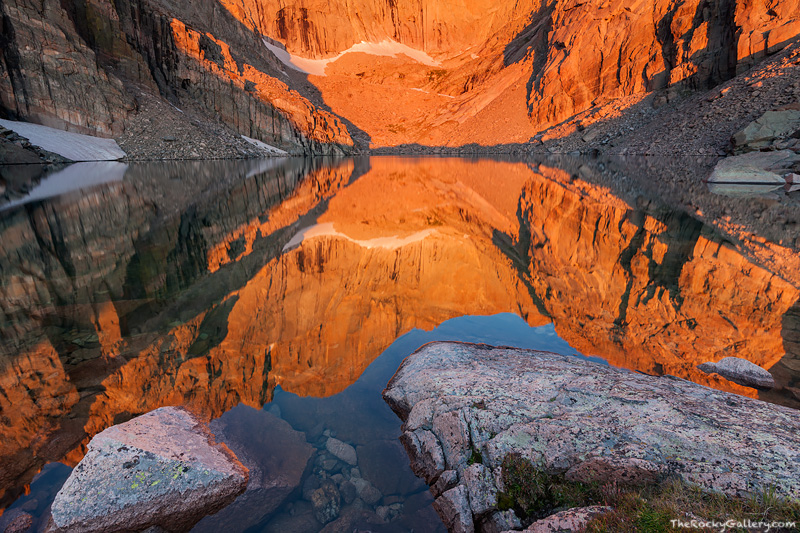 Rocky Mountain National Park, Colorado, Chasm Lake, Longs Peak, The Diamond,RMNP,Estes Park,Landscape,Photography,14,259,sunrise,refletion, photo