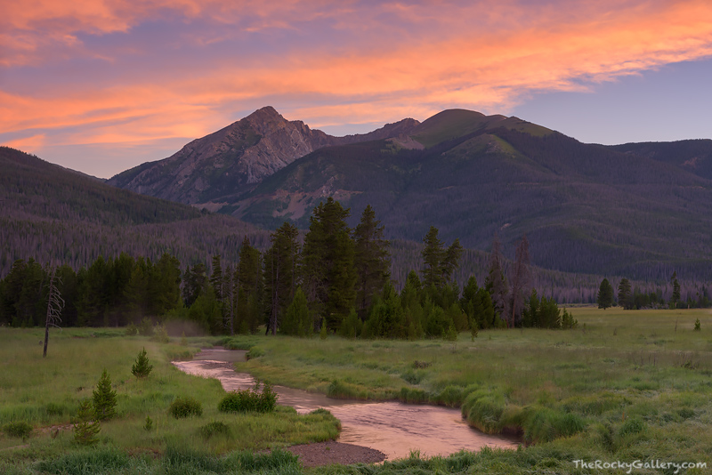Rocky Mountain National Park,Colorado,RMNP,West Side,Grand Lake,Trail Ridge road,Colorado River,Meander,Headwaters,Kawuneeche Valley,Trail Ridge Road,Moose,Baker Mountain,Stream,Photography,Landscape,, photo