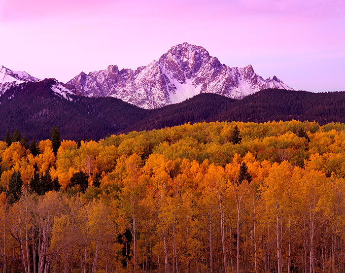 Mt. Sneffels, Telluride, Ouray, Ridgeway, Fall Color, San Juans, 14'er, Aspens, photo