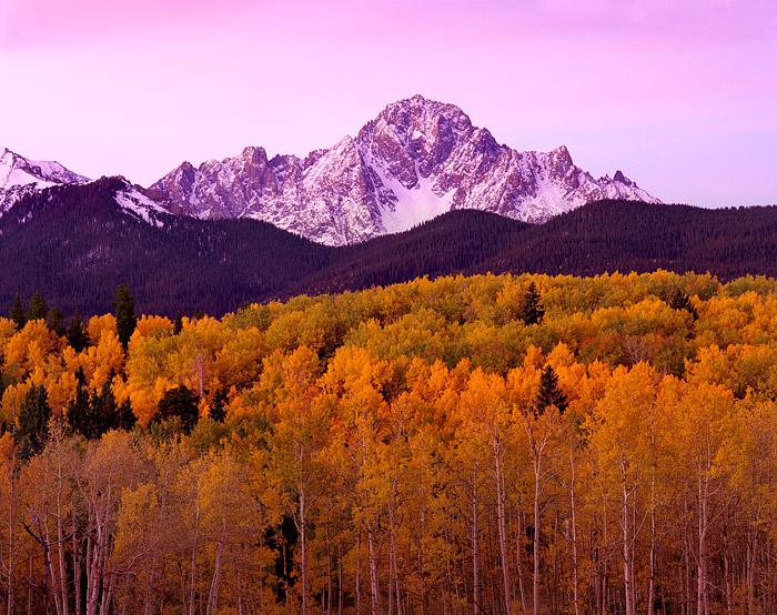 Mt. Sneffels, Telluride, Ouray, Ridgeway, Fall Color, San Juans, 14'er, Aspens, photo