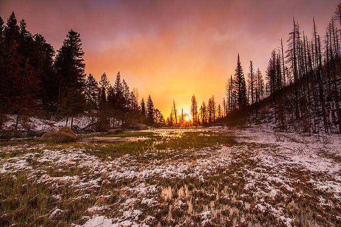cub lake,sunrise,colorado,rocky mountain national park,estes park,rmnp,spring,snow,moraine park , photo