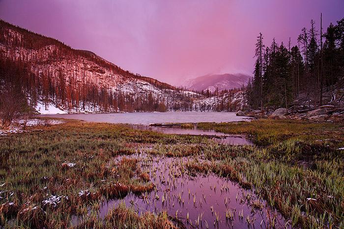Cub Lake,Sunrise,RMNP,Estes Park,Rocky Mountain National Park,Colorado,Stones Peak,rockies,moraine park,summer,spring, photo