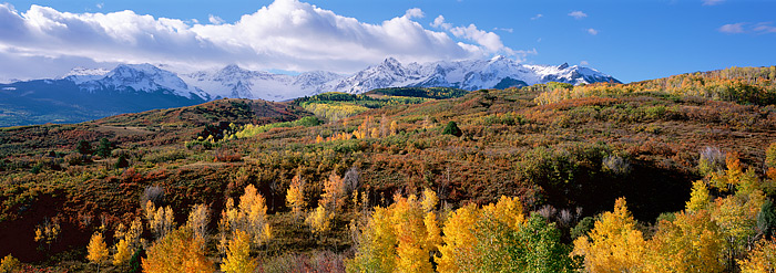 Colorado, Dallas Divide, Ridgway, Fall Color, San Juans, photo