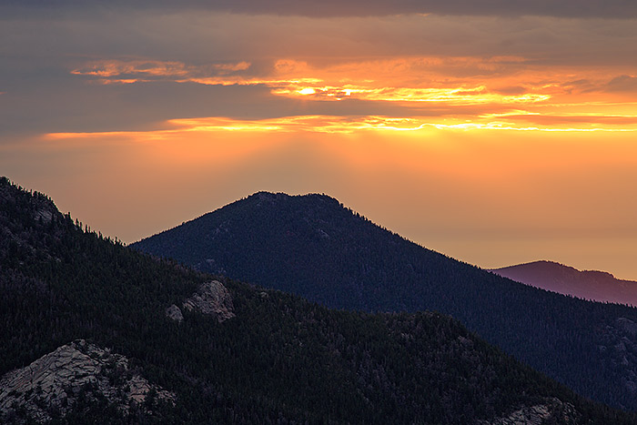 Colorado,Rocky Mountain National Park,Mummy Range,Lumpy Ridge,Sunrise,Dark Mountain,Trail Ridge Road , photo