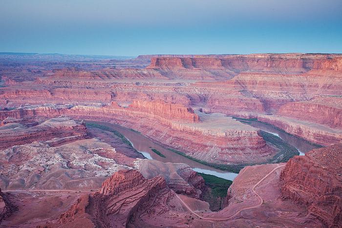 Dead Horse Point, Colorado River, Utah, Colorado Plateau, Canyonlands National Park, photo