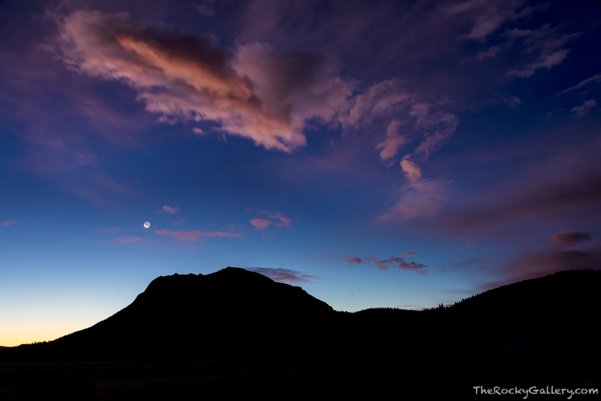 Deer Mountain,Horseshoe Park,Moonset,Fall River Road,Estes Park,Sunrise,Landscape,Photography,RMNP,Rocky Mountain National Park,Colorado,November , photo