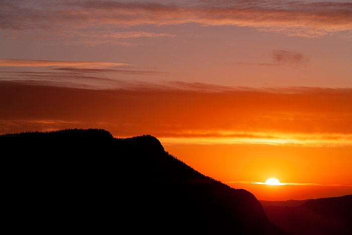 Rocky Mountain National Park, Colorado, Deer Mountain, Sunrise, Trail Ridge Road, Silhouette, clouds, photo