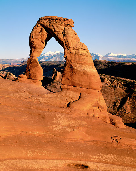 Arches National Park, Utah, Delicate Arch, La Sal Mountains, Moab, Cowboy Chaps, photo