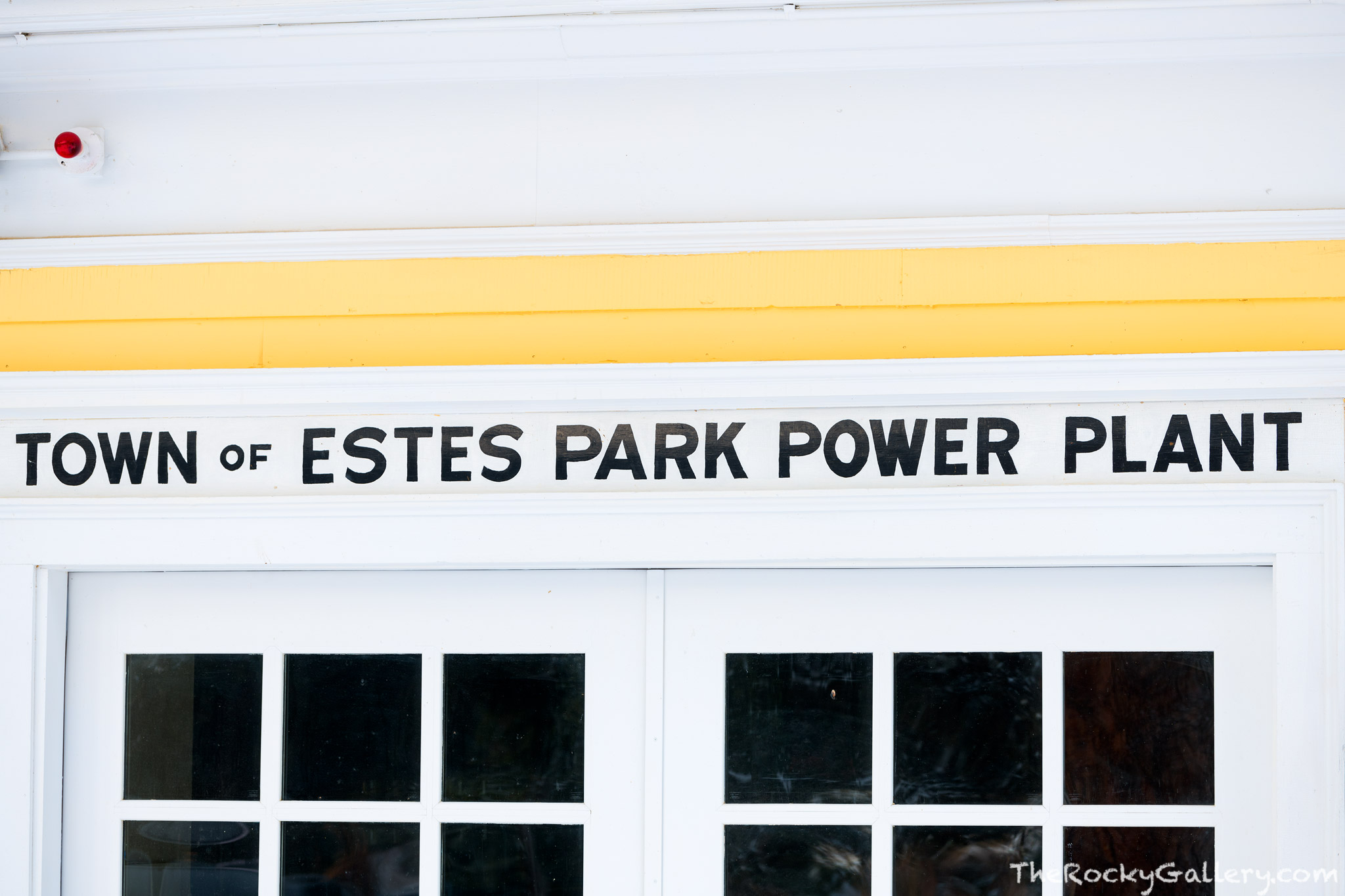 Estes Park Power Plant, Estes Park Hydroelectric Plant,museum,Rocky Mountain National Park,FO Stanley,Fall River,Colorado,Landscape,Photography,Sign,RMNP,Estes Park,hand of man , photo