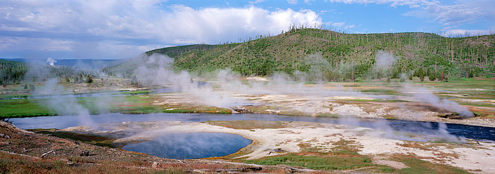 Wyoming, Yellowstone, National Park, Firehole River, Caldera, photo