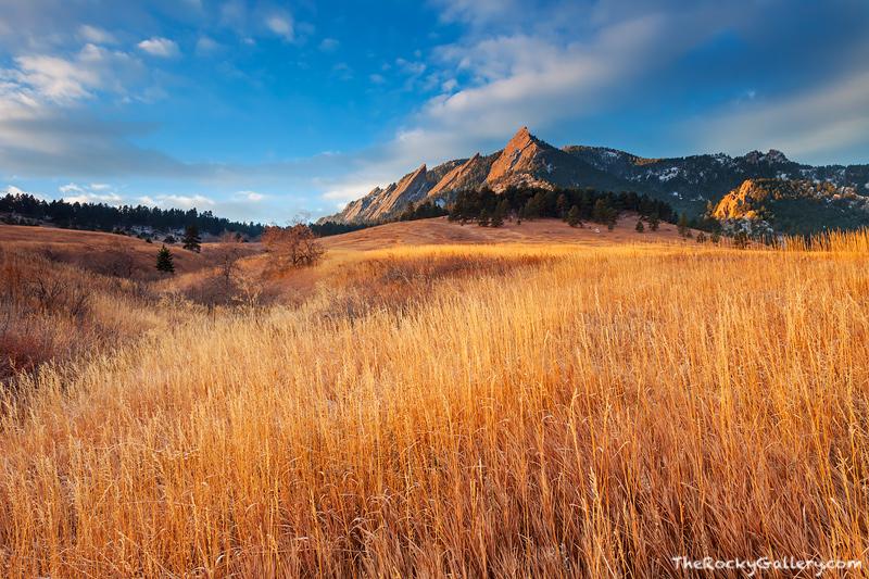 Boulder, Colorado, Open Space, OSMP, Chautauqua Park, Autumn, Sunrise, photo