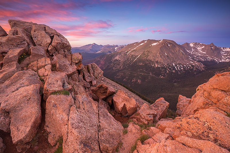 Longs Peak,Sunrise,Landscape,Photography,Forest Canyon,Trail Ridge Road,RMNP,Rocky Mountain National Park,Colorado,Stones Peak,Hayden Spire,tundra , photo