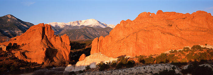 Garden of the Gods, Pikes Peak, Kissing Camels, Rattlesnake Ridge, Colorado, Springs, photo