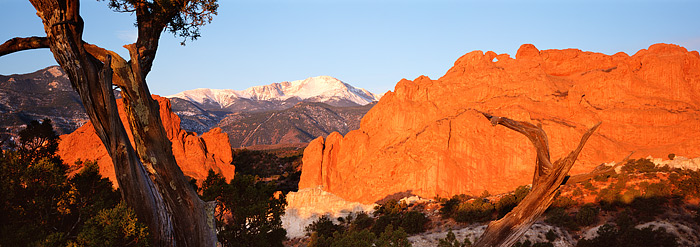 Pikes Peak Panoramic Colorado Springs Co Thomas