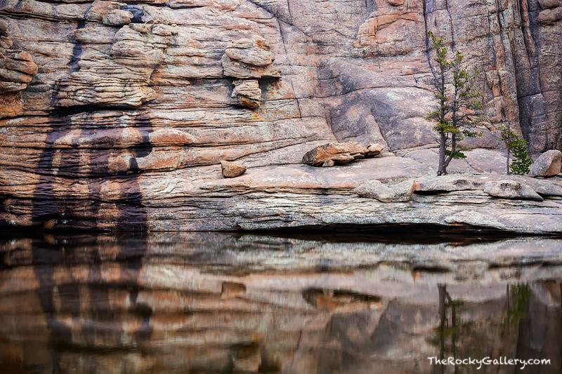 Gem Lake, Rocky Mountain National Park, Mummy Range,Lumpy Ridge,Reflections,Estes Park,RMNP,Landscape,Photography,Rocks,Granite, photo