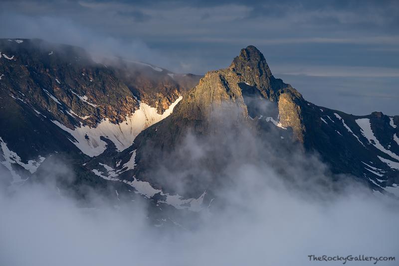 Hayden Spire,Trail Ridge Road,Forest Canyon,Rocky Mountain National Park,RMNP,Colorado,Estes Park,Sunrise,Landscape,Photography,fog,remote, photo