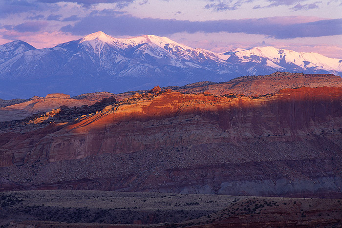 Capitol Reef National Park, Henry Mountains, Waterpocket Fold, Utah, photo