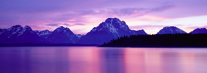 Grand Teton National Park, Jackson Lake, Mt. Moran, Jackson Hole, photo