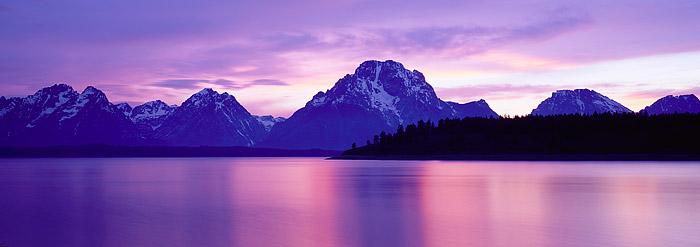Grand Teton National Park, Jackson Lake, Mt. Moran, Jackson Hole, photo
