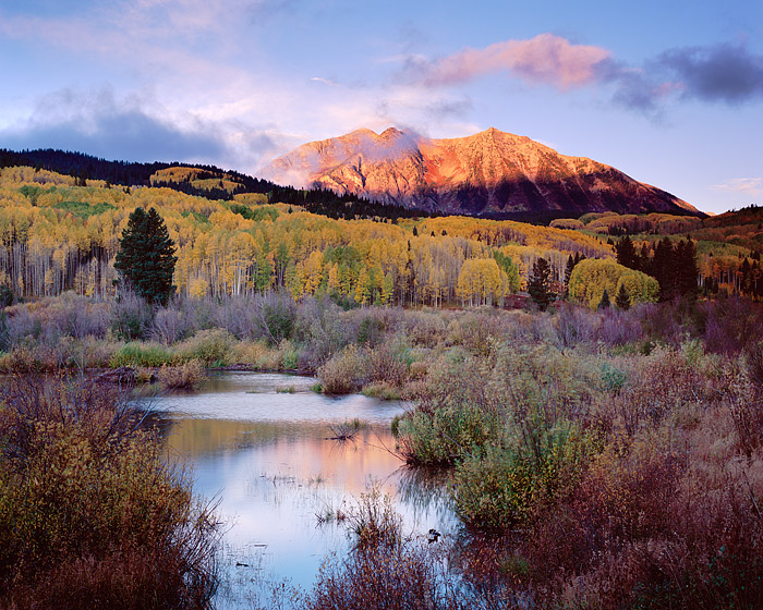 East Beckwith, Kebler Pass, Crested Butte, Fall Color, Aspens, Mountains, Gunnison, photo