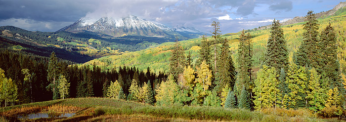 Kebler Pass, Colorado, Crested Butte, Fall, Aspens, East Beckwith, photo