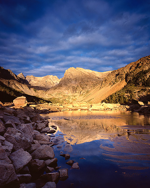 Indian Peaks Wilderness, Lake Isabelle, Colorado, Boulder, Estes Park, Shoshone Peak, photo