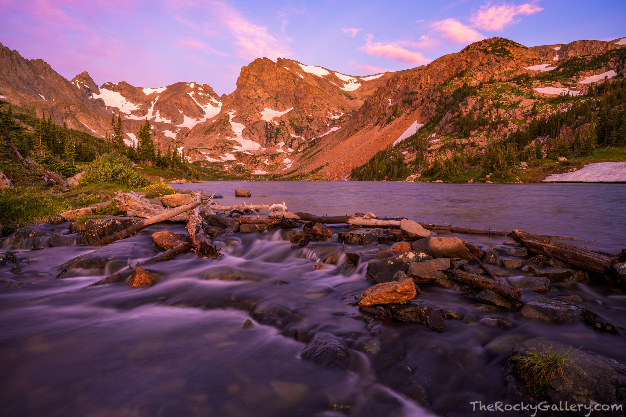 Brainard Lake,Lake Isabelle,Indian Peaks Wilderness Area,Colorado,Landscape,Photography,Sunrise,August,Boulder County,National Forest,Ward,Nederland,Shoshone Peak, photo